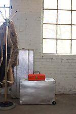 Koffer Orange Alternativ als Tasche clutch 70er True Vintage 70s case Handtasche