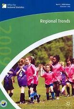 Regional Trends 42nd Edn The Office for National Statistics Very Good Book
