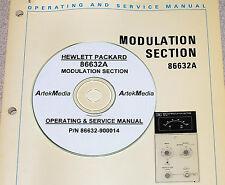 HP 86632A AM-FM Modulation Module Ops & Service Manual
