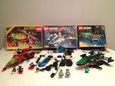 LEGO Lot de 3 boites SPACE vintage complètes  6897 + 6923 + 6938