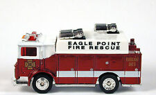 Matchbox Collectibles MACK Eagle Point Fire Rescue Auxiliary Power No Package