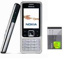 New Condition Nokia 6300 Silver Unlocked Camera Bluetooth Classic Mobile Phone