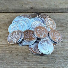 25 WHOLESALE Naughty ONCE A KING Token ONCE A KNIGHT Novelty Comical Coins 1960s