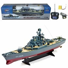 RC Boat  Destroyer Radio Remote Control Battle Ship Warship Toy New