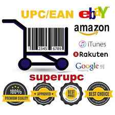 500 UPC For Amazon Ebay GS1 Barcodes Approved and Lifetime Guarantee + EAN Code