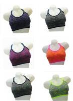 Sport BH Damen Bustier Sport Wear Yoga Push Up Bra Fitness Versch. Farben #7038