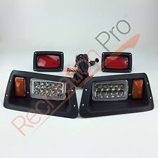YAMAHA G14 G16 G19 22 LED HEAD LIGHTS & LED TAIL LIGHTS GOLF CART LIGHT KIT
