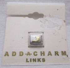 Add A Link Charm (Letter J) for Charm Bracelet New on Card