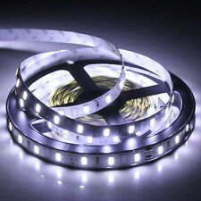 5630 5m 500cm Cool White or Warm White 300SMD Flexible LED Strip Light DC 12V