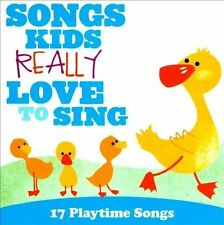 Songs Kids Really Love To Sing: 17 Playtime Songs by Various CD Free Ship #IJ35