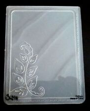 Sizzix Large 4.5x5.75in Embossing Folder ELEGANT VINE FRAME fits Cuttlebug