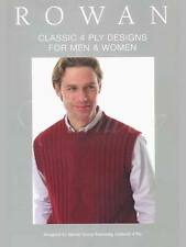 Rowan ::Classic 4 Ply Designs for Men & Women:: RYC Book #34 New 45% OFF!