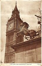 BR87735 big ben and boadicea s statue london  uk