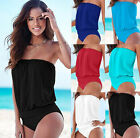 Plus size New Womens One Piece Bikini Swimsuit Swimwear Bathing Suit