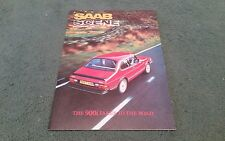 1984 SAAB SCENE VOLUME 7 NUMBER 1 MAY 1984 inc 900 900i TURBO 16S  - UK BROCHURE