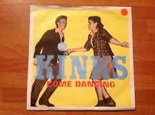 THE KINKS / 1982 Vinyl 45rpm Single / COME DANCING