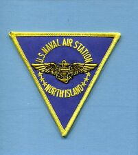 NAS NAVAL AIR STATION NORTH ISLAND US Navy Base Squadron Jacket Patch