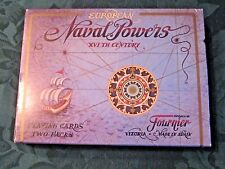 European Naval Powers XVIth Century Playing Cards, Fournier, Two Pack Deck Set