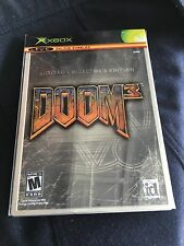 Doom 3: Limited Collector's Edition for XBOX Video Game Systems