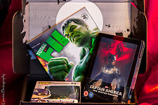 Captain America The winter Soldier Lenticular Steelbook + Zavvi Marvel Zbox