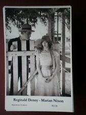 POSTCARD REGINALD DENNY - MARIAN NIXON