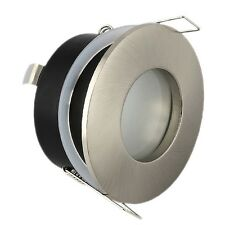 10 x SATINATO GU10 BAGNO soffitto luce Downlight Riflettore RACCORDO IP44 Rated