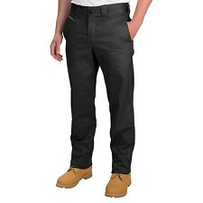 Dickies - 28/30 - NWT Solid Black Cotton Twill Trade Tapered Leg #832 Work Pants