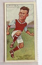 William Henry Walker Aston Villa Football 1926 John Player Cigarette Card (B5)