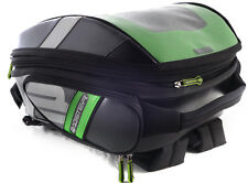 BAGSTER STUNT PVC BAG FOR TANK COVERS OR EASY HARNESS -BLK/GRN  21-32 L CAPACITY