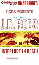J D Robb (Roberts) INTERLUDE IN DEATH Unabridged CD *NEW* FAST 1st Class Ship!
