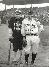 BABE RUTH AND LOU GEHRIG NY YANKEES CLASSIC CHARITY EVENT RIVAL UNIFORMS
