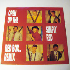 "SIMPLY RED - OPEN UP THE RED BOX - REMIX VINLY 12"" SINGLE EP"