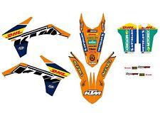 KTM GRAFICHE STICKERS DHL  EXC 2012 2013 SX 2011 2012 VARI ANNI E MODELLI