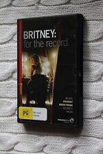 Britney - For The Record (DVD, 2009), Like new, free posting