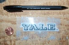 "Yale Bulldogs 3 1/4"" Lextra Patch 2000-Present Wordmark Logo College"