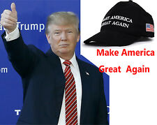 Make America Great Again Hat Donald Trump 2016 Republican embroidered Mesh Cap