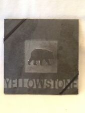Yellowstone Natural Slate Trivet - Very cool piece made in Boulder Colorado