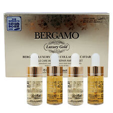 [BERGAMO] Premium Luxury Gold Collagen Caviar Ampoule Set 13ml x 4ea Anti-Aging