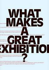MARINCOLA, P-WHAT MAKES A GREAT EXHIBITION?  BOOK NEW