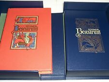 Folio Society LIBER BESTIARUM MS Bodley 764 - with Companion Volume