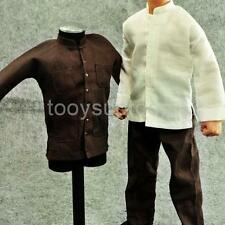 1/6 Brown Suit Kung Fu Hot Costume for Enterbay Enter the Dragon Bruce Lee
