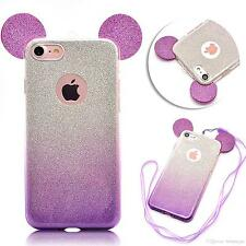 Luxury Glitter Bling Soft Crystal  Phone Case Cover For Apple iPhone 6s  6plus 7