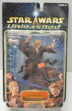 Star Wars UNLEASHED ANAKIN SKYWALKER Jedi Figure Statue Hasbro 2004 NIP