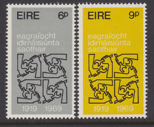 IRELAND, Scott #272-273: Mint, 1969 Intl. Labour Organisation - Complete