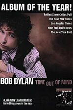 "MUSIC POSTER~Bob Dylan Time Out of Mind Album of the Year 1997 Original 24x36""~"