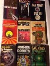 ISAAC ASIMOV 9 SF PB Sci Fi Lot CLASSICS I, ROBOT, GODS THEMSELVES, OPUS 100 + 6