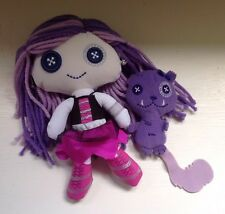Monster High Friends Spectra Vondergeist Doll and Pet Rhuen~Plush~RARE~euc~2011
