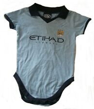 BNWT MANCHESTER CITY BOY BABY INFANT BABYGROW SLEEPSUIT9-12  MONTHS