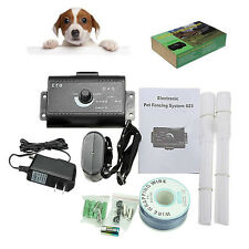 Dogs Waterproof In-Ground Electronic Wireless Pet Fence Containment System New