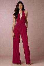 BHLDN Jill Jill Stuart Mara bridal/cocktail Jumpsuit Size 4 red
